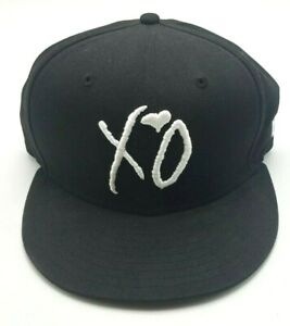 The Weeknd Official XO Hat New Era Black