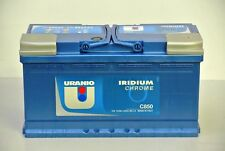 C850 BATTERIA TRATTORE AUTO 100Ah 850A 12V 353x175x190 IRIDIUM CHROME URANIO