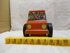 Vintage Tupperware Pick 'em Up Truck Complete with 10 Numbered Blocks 1978 Educa