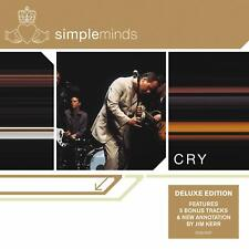 SIMPLE MINDS CRY DELUXE EDITION CD (Released May 24th 2019)