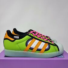 Adidas Superstar The Simpsons Squishee Solar Green H05789 UK 8 US 8.5 EU 42