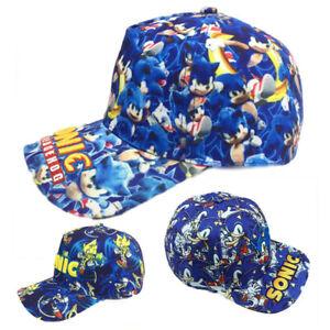 Cartoon Sonic Hut Stickerei Baseball Cap Hip Hop Hat Snapback Hats Cos Geschenk