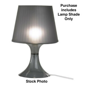 Ikea Lampan Black Lamp Shade Only 900.961.02