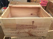 Wine Box Case Crate 6 Bottle French Domaine Romanee Conti DRC Echezeaux 2009