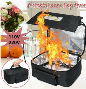110V 220V Portable Food Warmers Electric Heater Lunch Box Mini Oven Home Office
