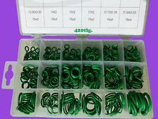 Klima-Anlage-Dichtungsringe 420-tlg HNBR O-Ring KFZ Klima Dichtung NEU
