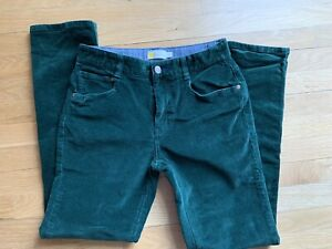 Boys Boden Cord trousers, bottle green, age 12