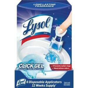 Lysol Click Gel Ocean Fresh Automatic Toilet Bowl Cleaner (6-Pack) 1920089059