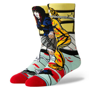 "Stance ""The Bride and Gogo"" Classic Crew Socks (Purple) Men's Graphic Print Sock"