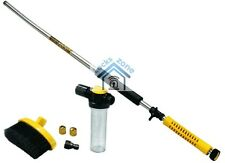 Water-Zoom High Pressure Cleaner With Brush Car Wash Hose Attachment Nozzle