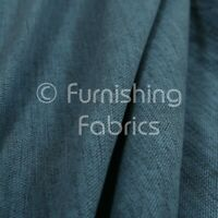 Soft Faux Wool Finish Navy Blue Chenille Fabric Upholstery Furnishing & Curtains