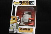 Funko Pop! Vinyl Figure - Star Wars #133 - Chopper - 2017 Galactic Convention