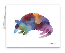 Armadillo Note Cards With Envelopes