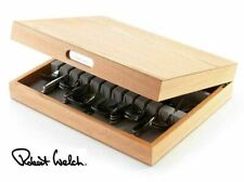 Robert Welch Oak Cutlery Canteen Box Storage Oak Tray