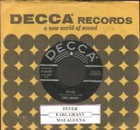Grant, Earl - Fever Vinyl 45 rpm record Free Shipping