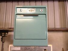 GE ELECTRIC IN WALL OVEN  AQUA TEAL vintage antique built  April 1958