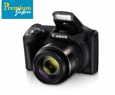 CANON PowerShot SX430 IS 20MP Black Digital Camera Japan Domestic Version New