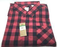 Genuine Dockers Original Men's Red Checkered Shirt New