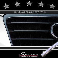 AUDI A4 B8 Typ 8K 2007-2011 Chrom Zierleisten für Kühlergrill 3M