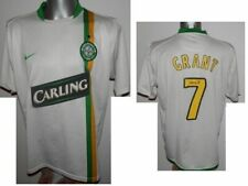 Rare 2006-08 Celtic European Grant #7 Legend Jersey Football Shirt soccer - L