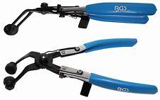 BGS 477 Schlauchklemmen- Schlauchschellen Zange Abgewinkelt, z.b Kühlerschlauch