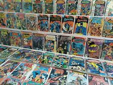 Detective Comics 474-665 Full Run Lot 566 569 608 647 Original Owner HI GRADE