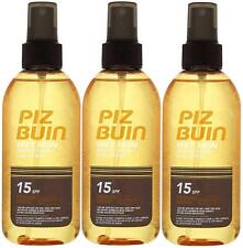 Spray Spf15 150ml Original 3 Pack Piz Buin Wet Skin Transparent Sun