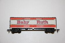 """Ho Scale """"Baby Ruth"""" Nadx 5342 Forty Foot Reefer Freight Train Box Car"""
