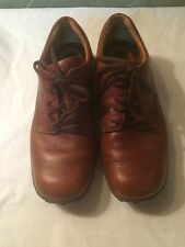 Born Brown Leather Shoes Mens Size 9 /42.5 Comfort Ties Oxford EUC