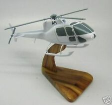 AS-350-B2 Eurocopter AS350 Helicopter Wood Model Large