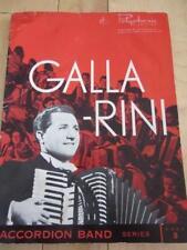GALLARINI ACCORDION BAND SERIES BOOK 5 SHEET MUSIC STAR SPANGLED BANNER O CANADA