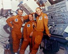 SKYLAB 3 PRIME CREW GARRIOTT, LOUSMA AND ALAN BEAN - 8X10 NASA PHOTO (AA-075)