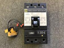 Square D Circuit Breaker 225 Amp 600V 3P Kal362251021 120/240V Shunt Trip