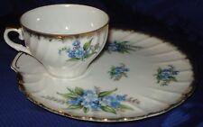 RP863 Vtg Shafford Bone China Japan Teacup & Plate Set