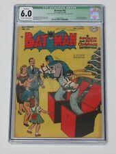 Batman 45 CGC 6.0 Golden Age 1948 The Christmas Adventure Rare