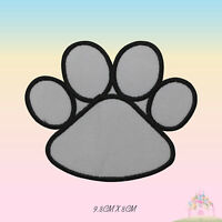 Dog Paw Embroidered Iron On Patch Paw Sew On Badge Applique