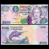 Bahamas 100 Dollar, 2009, P-76, UNC, Banknotes