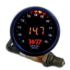 APSX D2 Digital Wideband O2 Air Fuel Ratio Controller Gauge Kit (Black-Orange)