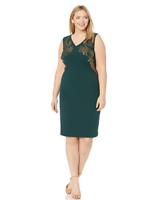 Calvin Klein Plus Size Embroidered Sleeveless Dress, Size 22W, Retail $149.50