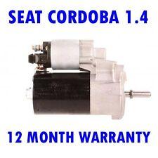 SEAT CORDOBA 1.4 1.6 1993 1994 1995 1996 1997 1998 - 2002 STARTER MOTOR