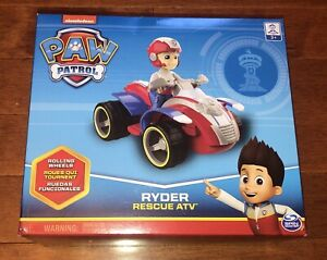 Paw Patrol Ryder Rescue ATV Vehicle Toy New Free Shipping