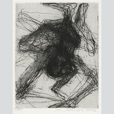 Mechthild Mansel: Spinnenfigur I. Radierung 1997. Expl. Nr. 1 von 85