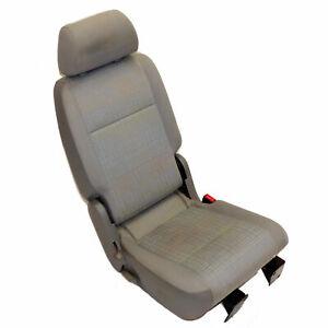 VW Caddy 2K Sitz hinten links Stoffsitz 1. Reihe mit Gurt grau