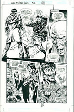 John Byrne X-Men the Hidden Years 12 Page 10  Original Pencil and Ink art