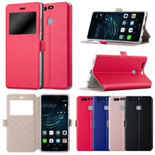 Custodie portafogli nero Per Huawei P9 per cellulari e palmari