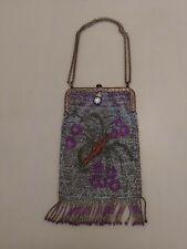 New listing Antique Beaded Bag Purse