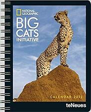 2012 NG Big Cats Deluxe Diary, teNeues, Used; Very Good Book