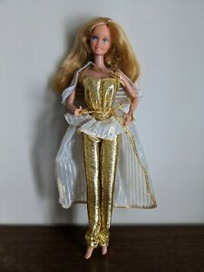Vintage 1980 GOLDEN DREAM BARBIE Doll Original Mattel