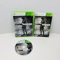 Tomb Raider Microsoft Xbox 360 Video Game Complete With Manual