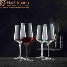 4x NACHTMANN ViNova Rotweinglas Kristallglas Weinglas Bordeaux 550 ml NEU 1.Wahl